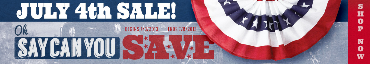 4th July Independence Day Sale!