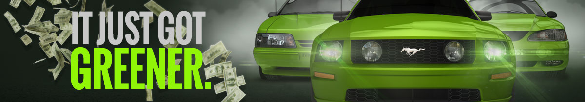 94-04 Mustang - Save More Green