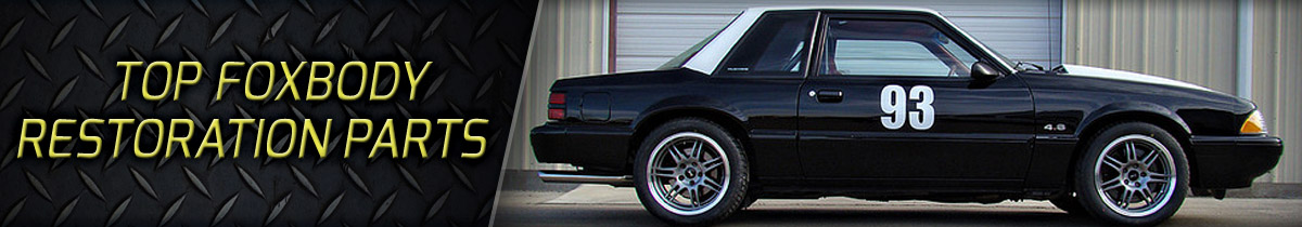 Top Fox Body Resto Kits