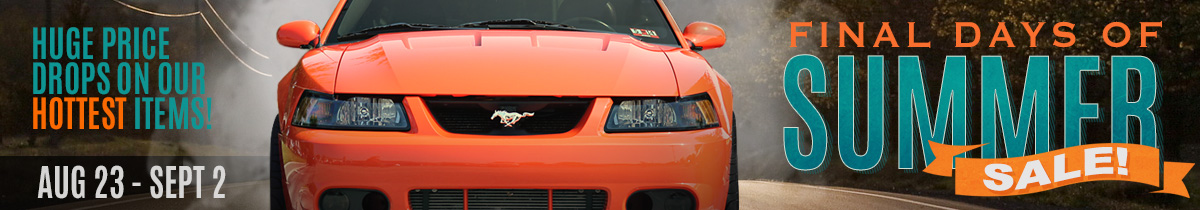 Mustang Parts Sale - Final Day Of Summer 2013